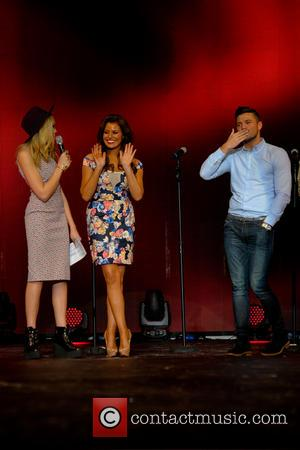 Becca Dudley, Jessica Wright and Mark Wright