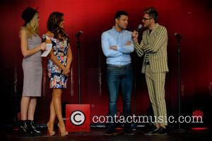 Becca Dudley, Mark Wright, Jessica Wright and Henry Holland
