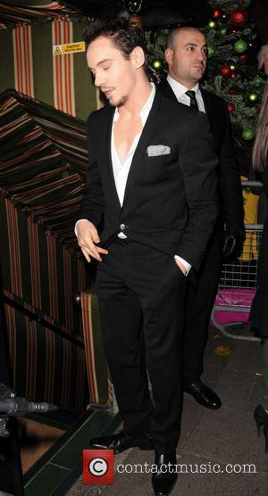 Jonathan Rhys Meyers - attend Lady Gaga Concert at Annabels Club - London, United Kingdom - Saturday 7th December 2013