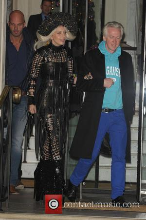 Lady Gaga and Philip Treacy
