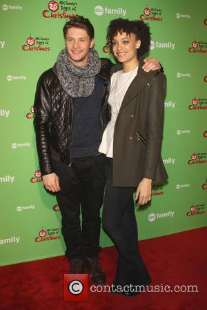 Britne Oldford and Brett Dier