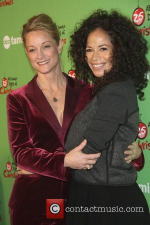 Teri Polo and Sherri Saum - 25 Days Of Christmas Winter Wonderland event at the Rockefeller Center - New York...