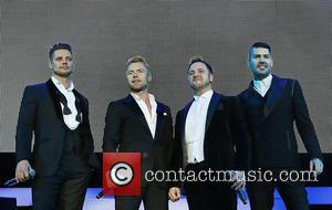 Keith Duffy, Ronan Keating, Mikey Graham and Shane Lynch