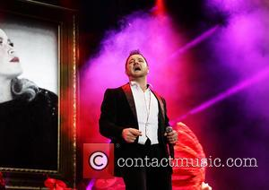 Mikey Graham - Boyzone performing on their 'BZ20 The 20th Anniversary Tour