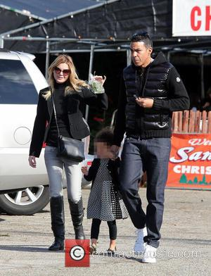 Ellen Pompeo, Stella Luna Pompeo Ivery and Chris Ivery