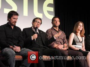 Christian Bale, David O. Russell, Bradley Cooper and Amy Adams
