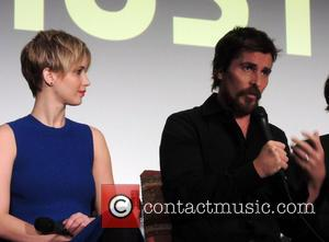 Jennifer Lawrence and Christian Bale