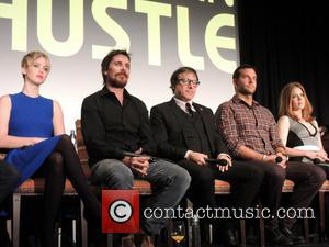 Jennifer Lawrence, Christian Bale, David O. Russell, Bradley Cooper and Amy Adams