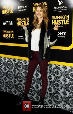 Behati Prinsloo - New York screening of 'American Hustle' at the Ziegfeld Theater - Arrivals - New York, United States...
