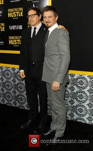 David O. Russell and Jeremy Renner - New York screening of 'American Hustle' at the Ziegfeld Theater - Arrivals -...