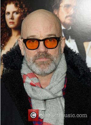Michael Stipe - New York screening of 'American Hustle' at the Ziegfeld Theater - Arrivals - New York, United States...