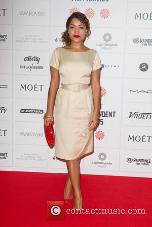 Antonia Thomas - Moet British Independent Film Awards held at Old Billingsgate Market - Arrivals - London, United Kingdom -...
