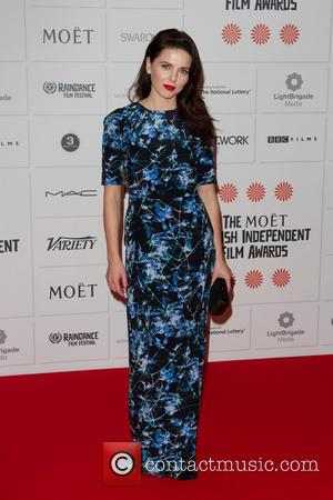 Ophelia Lovibond - Moet British Independent Film Awards held at Old Billingsgate Market - Arrivals - London, United Kingdom -...