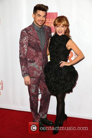 Adam Lambert and Kathy Griffin - Celebrities attend 'TrevorLIVE LA' honoring Jane Lynch and Toyota for the Trevor Project at...