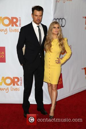 Josh Duhamel and Fergie - Celebrities attend 'TrevorLIVE LA' honoring Jane Lynch and Toyota for the Trevor Project at Hollywood...