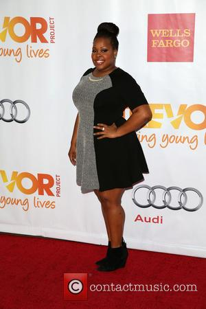 Amber Riley - Celebrities attend 'TrevorLIVE LA' honoring Jane Lynch and Toyota for the Trevor Project at Hollywood Palladium. -...