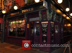 Toners Pub - The cast of Anchorman 2 leaving Toners pub after popping in for a couple of pints before...
