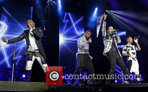 Jb Gill, Ortise Wiliams, Marvin Humes and Aston Merrygold
