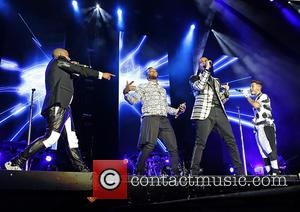 JB Gill, Ortise Wiliams, Marvin Humes and Aston Merrygold - JLS performing on their 'Evolution' Tour at Liverpool Echo Arena...