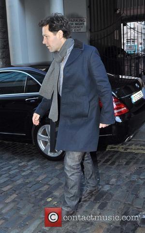 Paul Rudd - Celebrities at the Today FM studios - Dublin, Ireland - Monday 9th December 2013