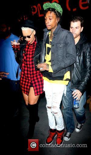 Amber Rose and Wiz Khalifa