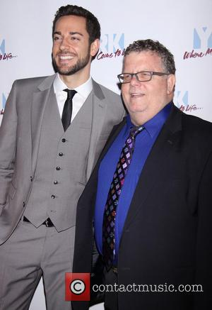 Zachary Levi and James Morgan - The York Theatre Company's 22nd Oscar Hammerstein Award Gala, held at the Hudson Theatre...