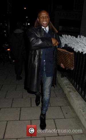 Chris Eubank - Celebrities at 34 Restaurant in Mayfair - London, United Kingdom - Monday 9th December 2013