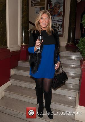 Frankie Essex - 'Aladdin' celebrity press night held at the New Wimbledon Theatre - Arrivals - London, United Kingdom -...