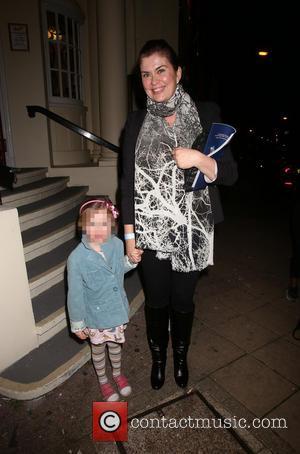 Amanda Lamb - Press night for 'Aladdin' at the New Wimbledon Theatre - Arrivals - London, United Kingdom - Monday...