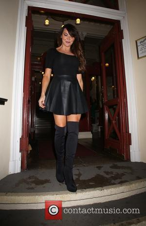 Lizzie Cundy - Press night for 'Aladdin' at the New Wimbledon Theatre - Arrivals - London, United Kingdom - Monday...