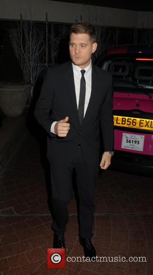 Michael Buble - Celebrities leaving the Soho Hotel - London, United Kingdom - Monday 9th December 2013