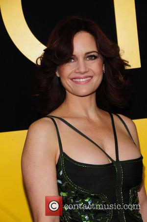 Carla Gugino - World Premiere of American Hustle - NY, New York, United States - Monday 9th December 2013