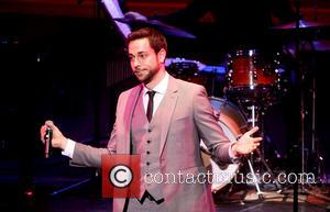Zachary Levi - The York Theatre Company's 22nd Oscar Hammerstein Award Gala, held at the Hudson Theatre - Performance. -...