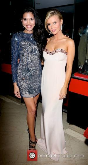 Joyce Giraud and Joanna Krupa - Angels for Animal Rescue Benefit at the Beverly Wilshire Four Seasons Hotel - Beverly...