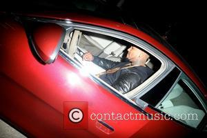The Game - The Game out and about in his car in Hollywood - Los Angeles, California, United States -...