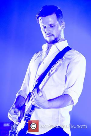 Harry McVeigh - White Lies performing live on stage at the Roundhouse, Camden - London, United Kingdom - Tuesday 10th...
