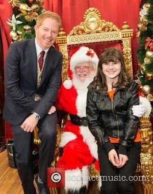 Jesse Tyler Ferguson and Santa Claus
