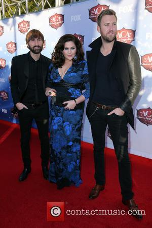 Lady Antebellum - 2013 American Country Awards at Mandalay Bay Resort and Casino - Arrivals - Las Vegas, Nevada, United...