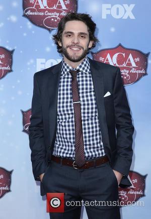 Thomas Rhett - 2013 American Country Awards held at Mandalay Bay Resort and Casino - Arrivals - Las Vegas, Nevada,...