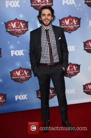 Thomas Rhett - American Country Awards 2013 - Arrivals at Mandalay Bay Resort and Casino - Las Vegas, California, United...