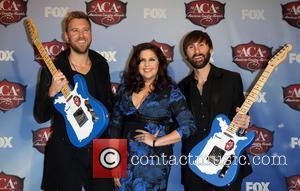 Charles Kelley, Dave Haywood and Hillary Scott - American Country Awards 2013 - Press Room at Mandalay Bay Resort and...