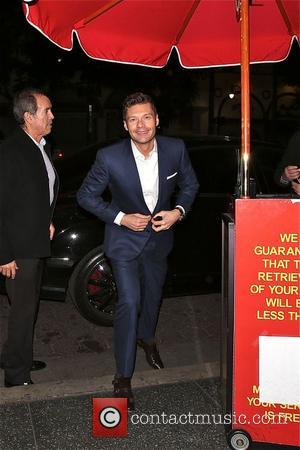 Ryan Seacrest - Ryan Seacrest Productions Staff Christmas Party at Loteria Mexican restaurant in Hollywood - Los Angeles, California, United...