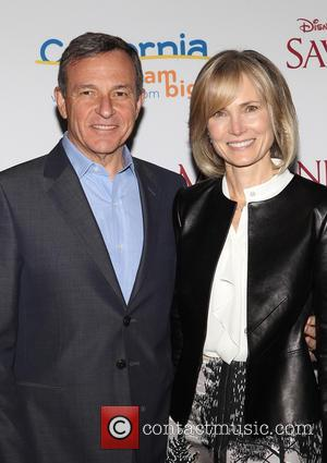 Bob Iger and Willow Bay