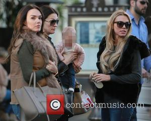 Tamara Ecclestone, Slavica ecclestone, Lavivia Stunt and petra ecclestone - Petra Ecclestone with Baby Lavinia shop at The Grove Shopping...