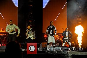Jls, Marvin Humes, Aston Merrygold, Oritsé Williams and Jb Gill
