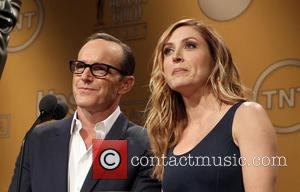 Clark Gregg and Sasha Alexander - 20th Annual Screen Actors Guild Awards Nominations Announcement At Pacific Design Center - West...