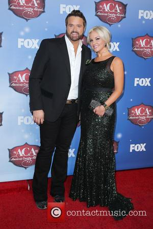 Randy Houser and Jessa Houser - 2013 American Country Awards held at Mandalay Bay Resort and Casino - Arrivals -...