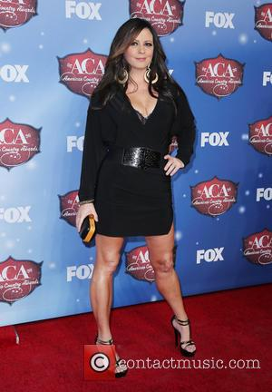 Sara Evans - 2013 American Country Awards held at Mandalay Bay Resort and Casino - Arrivals - Las Vegas, Nevada,...