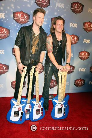 Florida Georgia Line - 2013 American Country Awards Press Room held at Mandalay Bay Hotel & Casino in Las Vegas,...