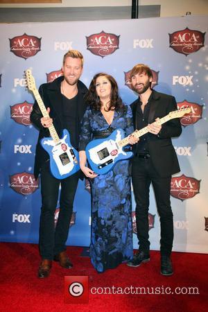 Lady Antebellum - 2013 American Country Awards Press Room held at Mandalay Bay Hotel & Casino in Las Vegas, NV...